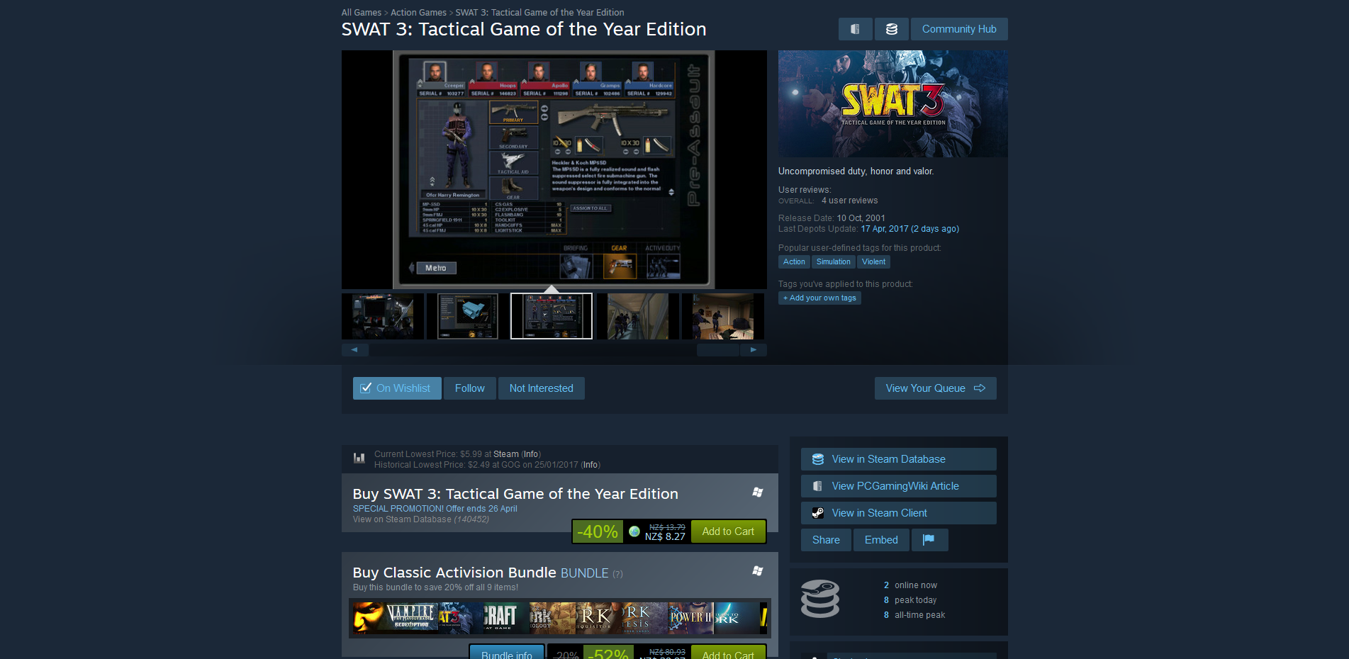 swat 3 tactical game of the year edition-gog